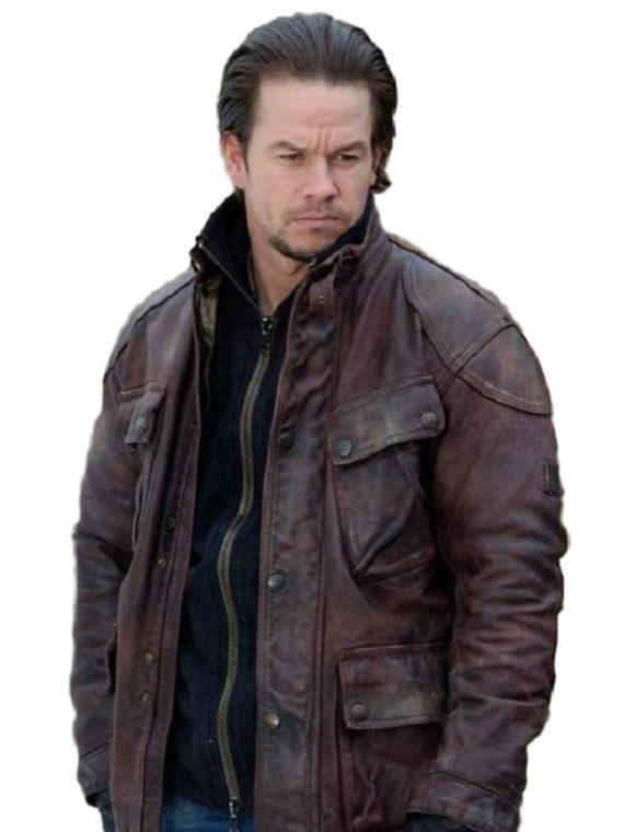 Mark Wahlberg Four Brothers Leather Jacket