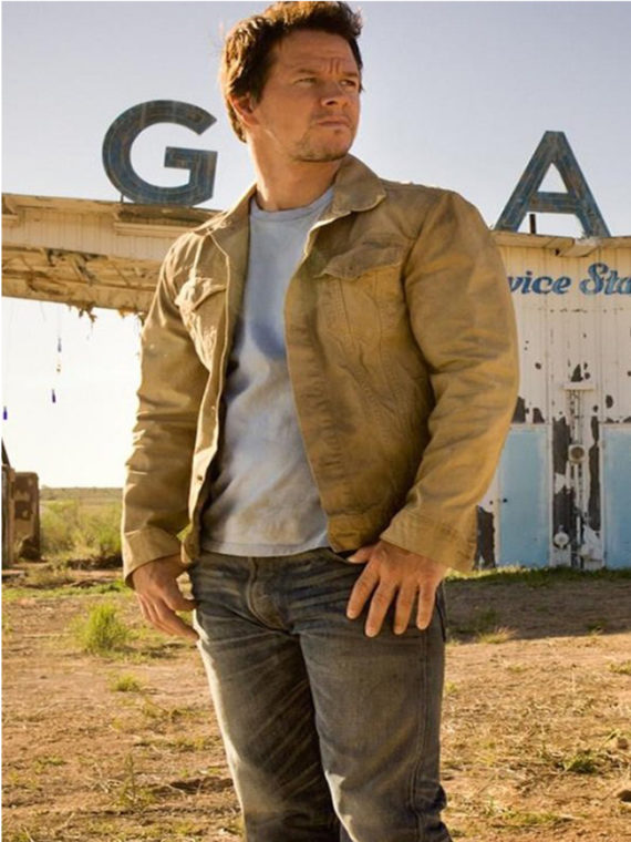 Mark Wahlberg Transformers Brown Jacket