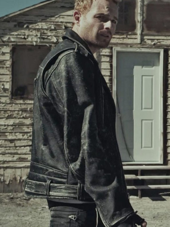 Martin Copping Zombie Hunter Leather Jacket