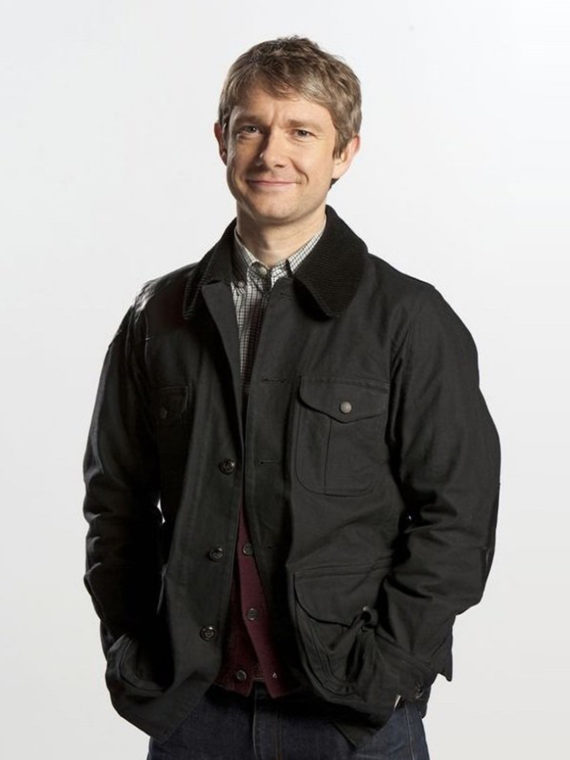 Martin Freeman Sherlock Series Jacket