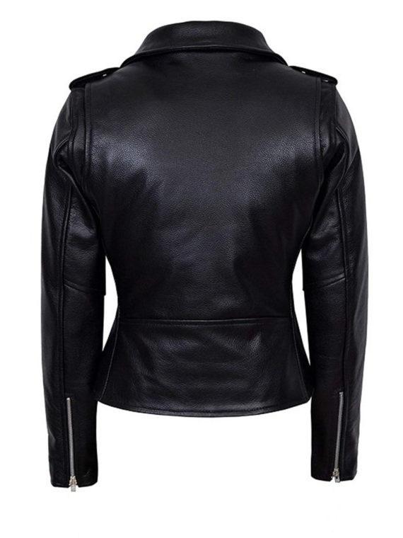 Maryse Mizanin Motorcycle Leather Jacket