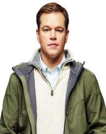 Matt Damon Downsizing Hoodie Jacket