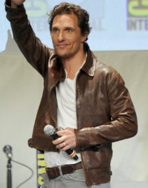 Matthew McConaughey Brown Jacket