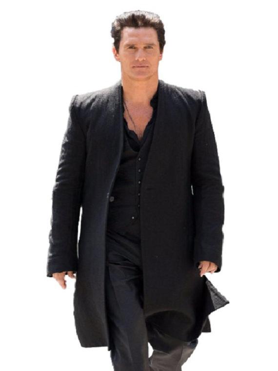Matthew McConaughey Dark Coat