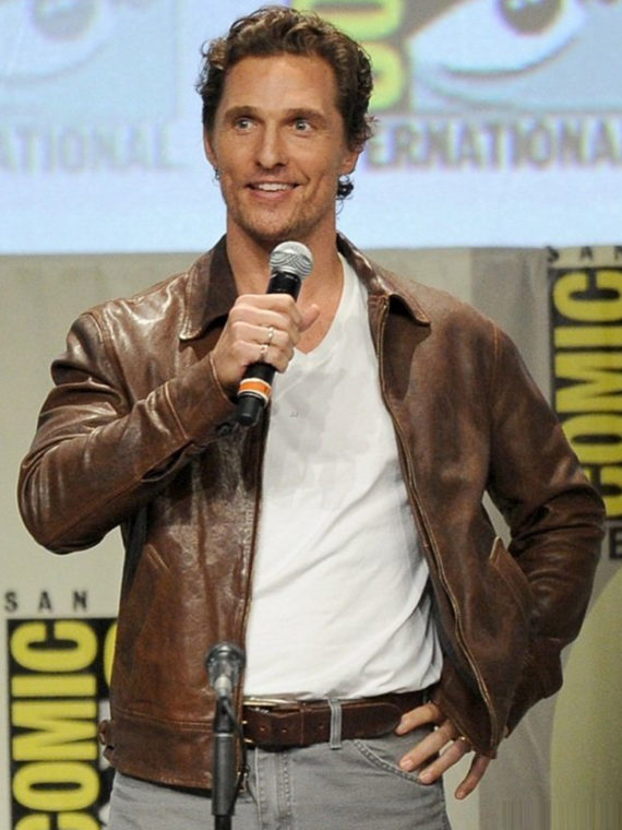 Matthew McConaughey Interstellar Brown Jacket