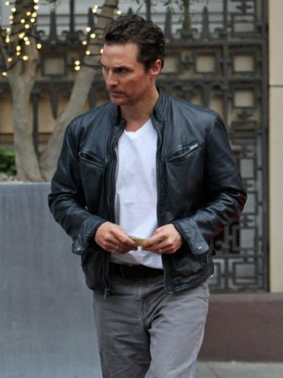 Matthew McConaughey True Leather Jacket