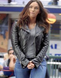 Megan Fox Teenage Mutant Ninja 2 Black Jacket