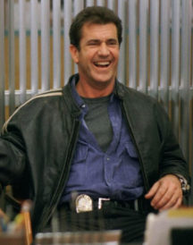 Mel Gibsoan Lethal Leather Jacket
