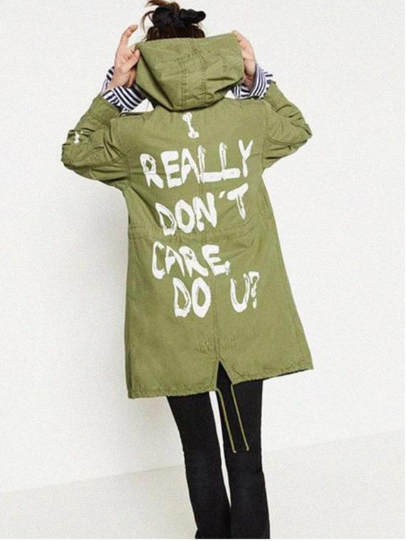 Melania Trump I Really Care Do U Coat