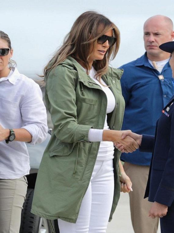Melania Trump I Really Dont Care Do Coat