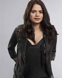 Melonie Diaz Charmed Series Black Leather Jacket