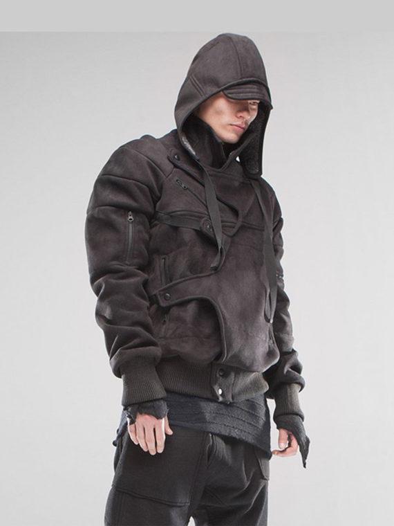 Men's Assassin's Removable Hood Jacket