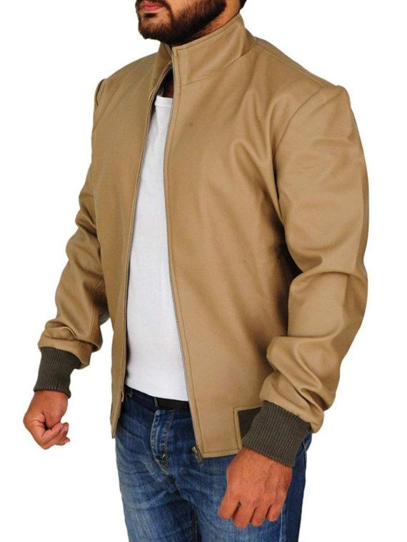 Men's Classic Antique Beige Jacket