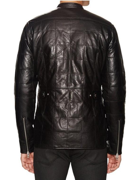 Men's Graceful Design Leather Jacket