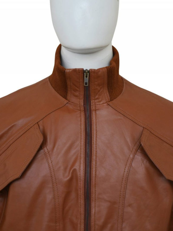 Men 4 Pockets Bomber Jacket