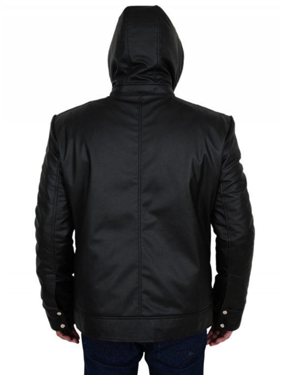 Mens Black Hoodie Jacket