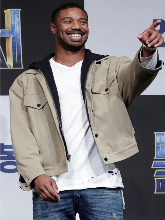 Michael B. Jordan Black Panther Jacket