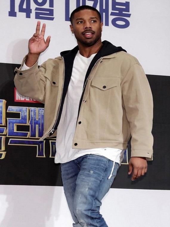 Michael B. Jordan Black Panther Premiere Jacket