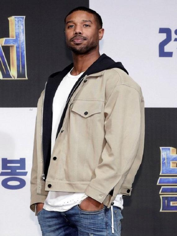 Michael B. Jordan Black Premiere Jacket