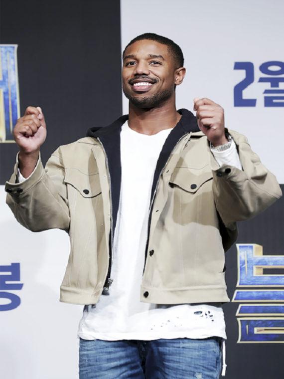 Michael B. Jordan Panther Premiere Jacket