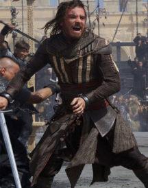 Michael Fassbender Assassin's Creed Cosplay Hoodie Coat
