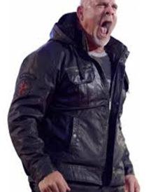 WWE Bill Goldberg Black Hoodie Jacket
