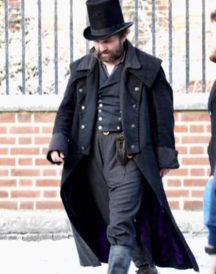 A Christmas Carol Tom Hardy Black Coat