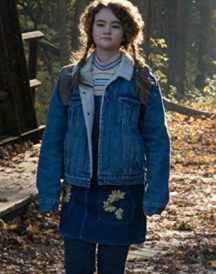 A Quiet Place Millicent Simmonds Jean Jacket