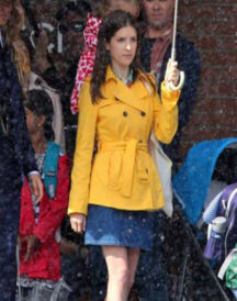 A Simple Favor Anna Kendrick Double Breasted Yellow Jacket