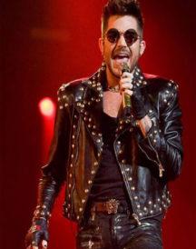 Adam Lambert Black Jacket