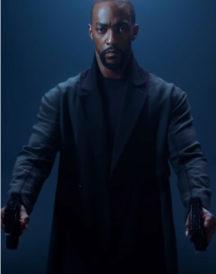 Altered Carbon Season 02 Anthony Mackie Black Coat