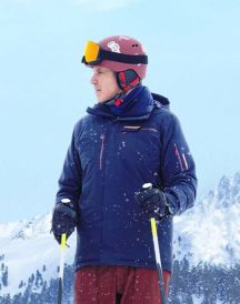 Downhill Pete Blue Jacket