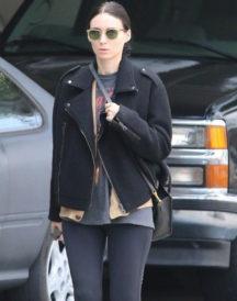Patricia Rooney Mara Wool Black Jacket