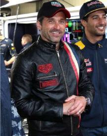 Patrick Dempsey Formula 1 Grand Leather Jacket