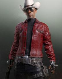 PlayerUnknown'as Battleground Quilted Leather Jacket