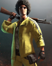 Playerunknown's Battlegrounds Yellow Jacket
