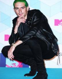 Rapper G-Eazy Brando Biker Style Leather Jacket