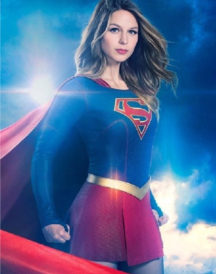 Supergirl Cosplay Leather Jacket