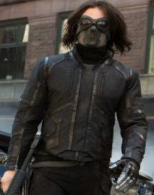 The Winter Soldier Bucky Barnes Black Jacket