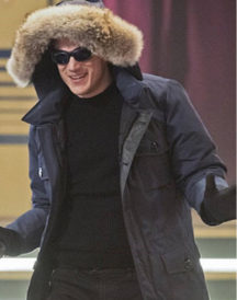 Wentworth Miller The Captain Cold Hoodie Jacket