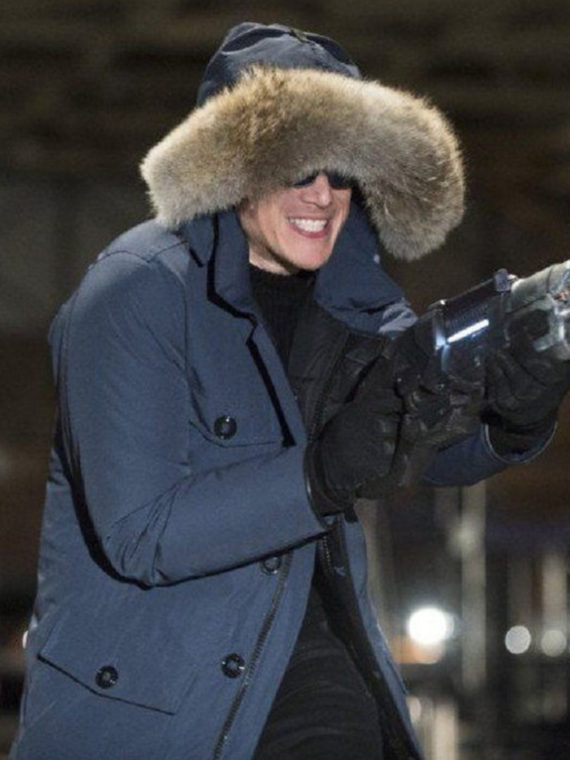 Wentworth Miller The Flash Captain Cold Hoodie Jacket