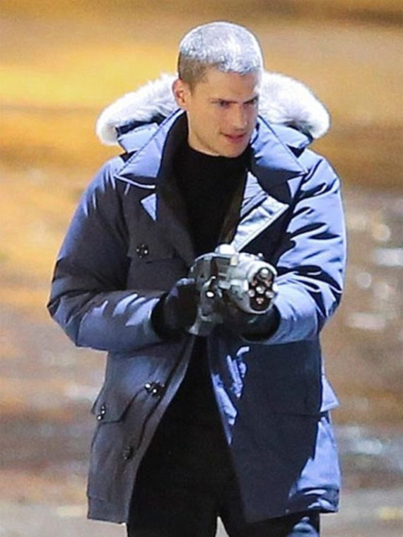 Wentworth Miller The Flash Captain Cold Jacket