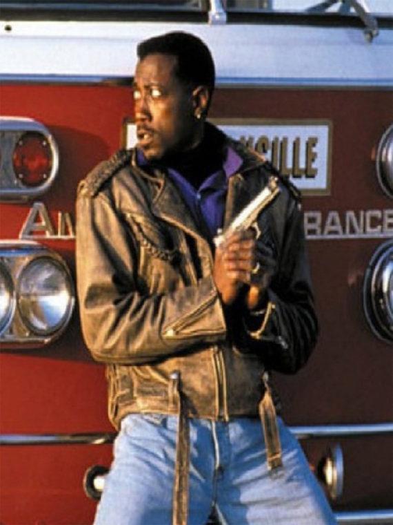 Wesley Snipes Passenger 57 John Cutter Jacket