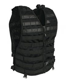 Wrestler Leati Joseph Black Leather Vest