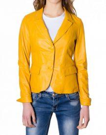 Yellow Classic women Blazer