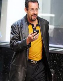 Adam Sandler Uncut Gems Leather Jacket