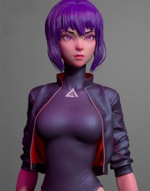 Ghost in The Shell Sac 2045 Jacket