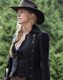 Legends of Tomorrow S06 Jes Macallan Black Coat