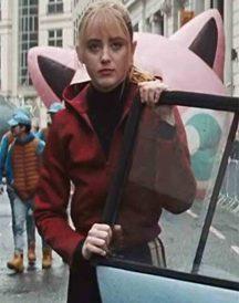 Lucy Stevens Pokémon Detective Pikachu Red Jacket