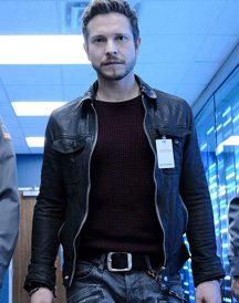 Matt Czuchry The Resident Black Leather Jacket
